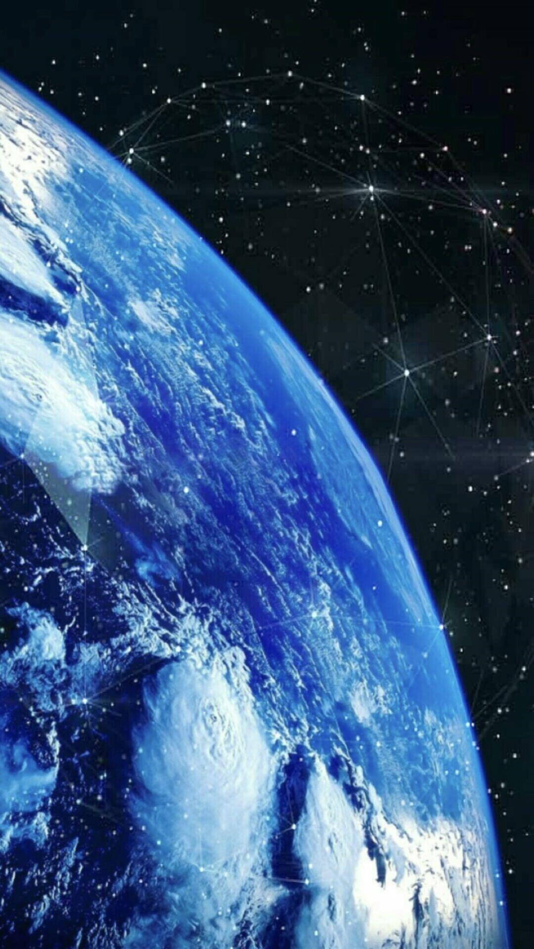 地球 宇宙 Wallpaper Sc スマホ壁紙