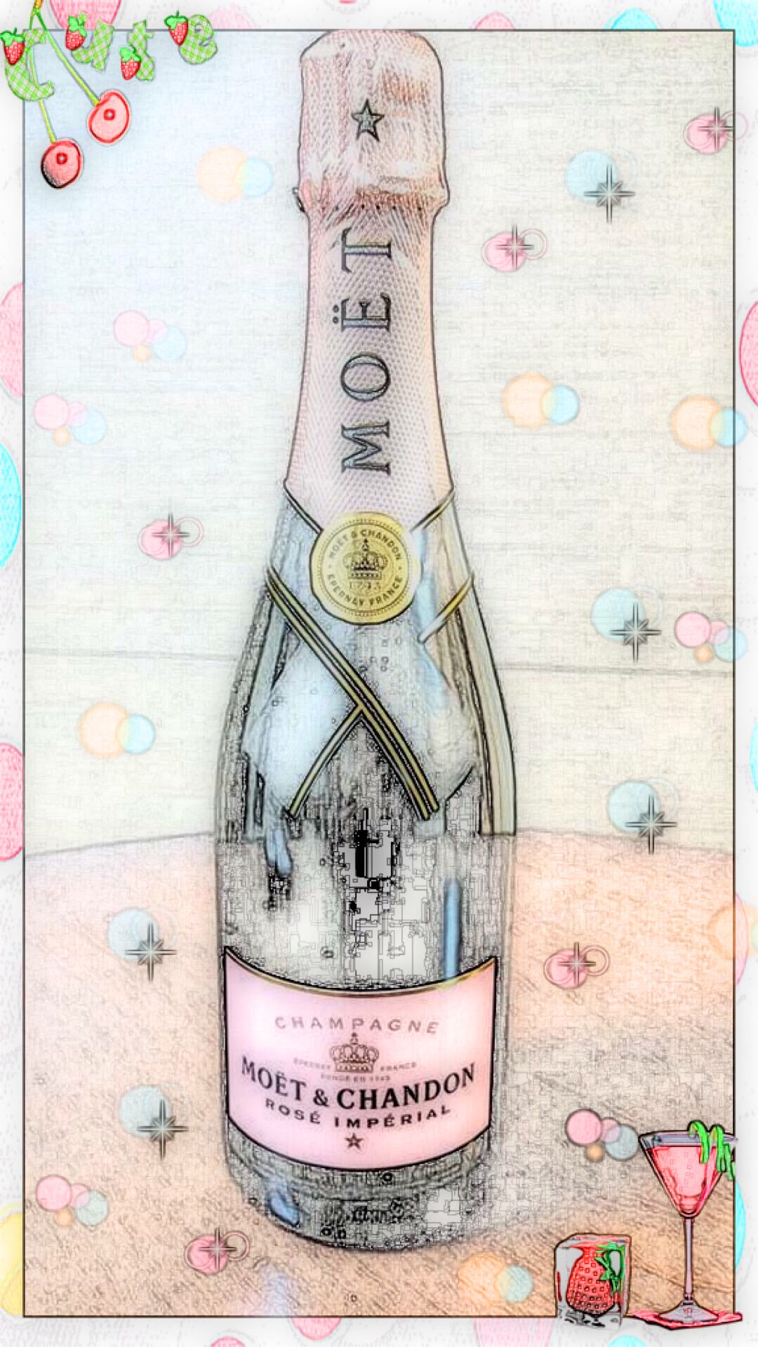 Boceto De Moet Et Chandon Wallpapersc Android