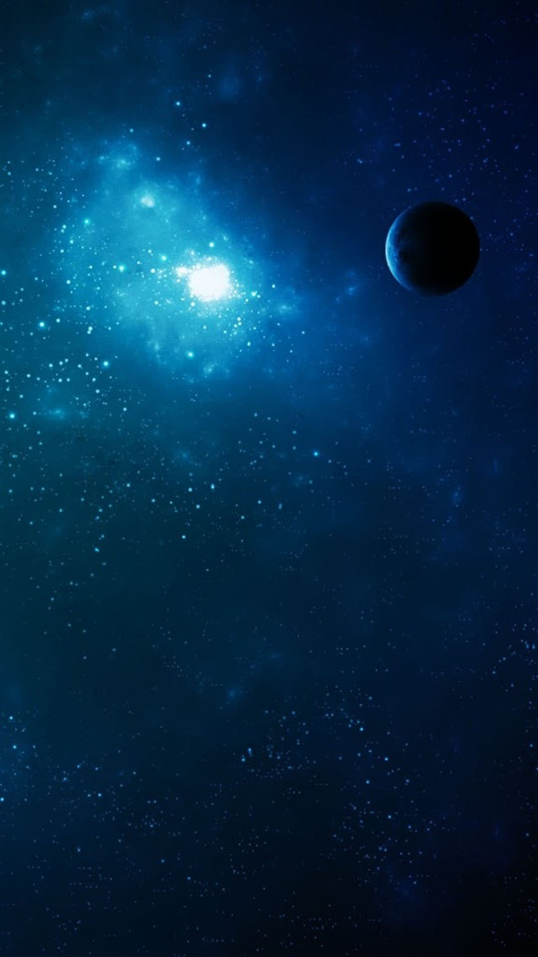 Space blue smartphone - Space wallpaper 2160x1920 ...