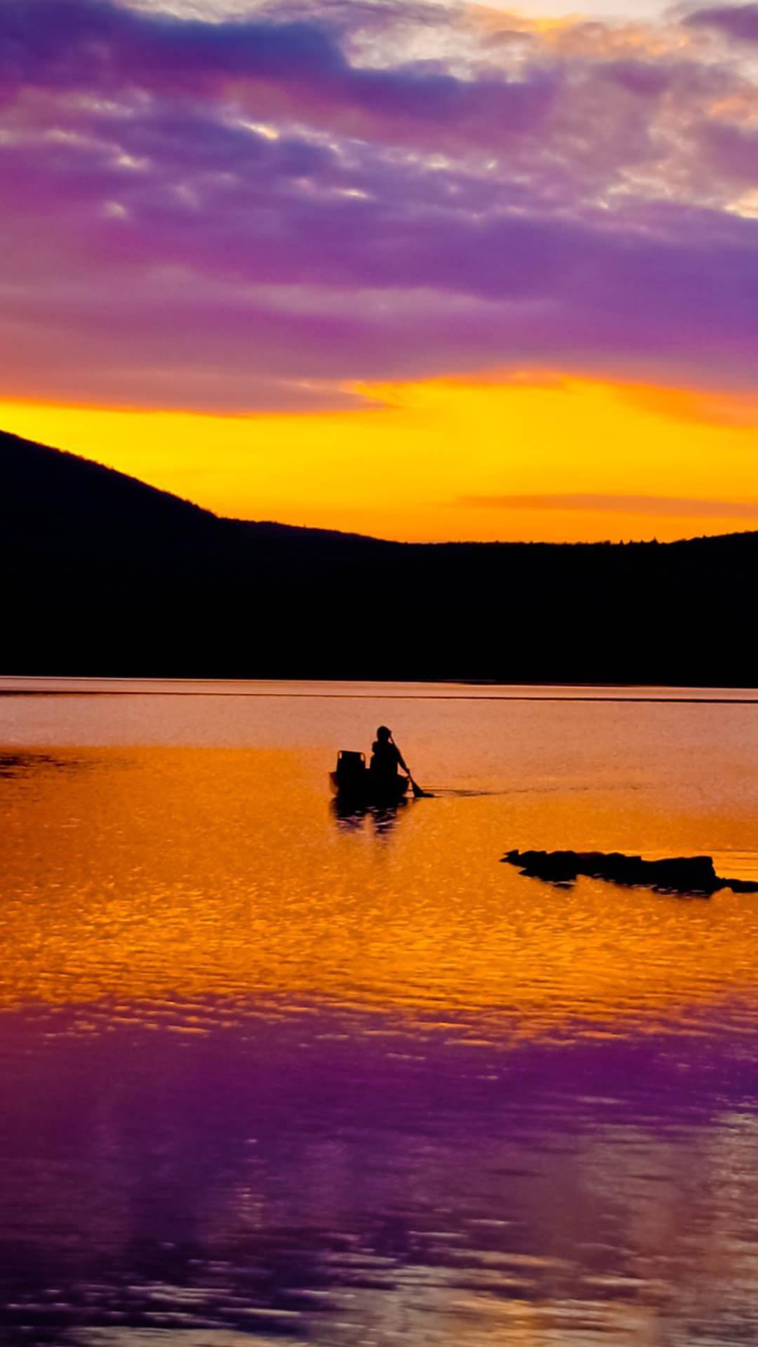 Landscape dusk  wallpaper.sc SmartPhone