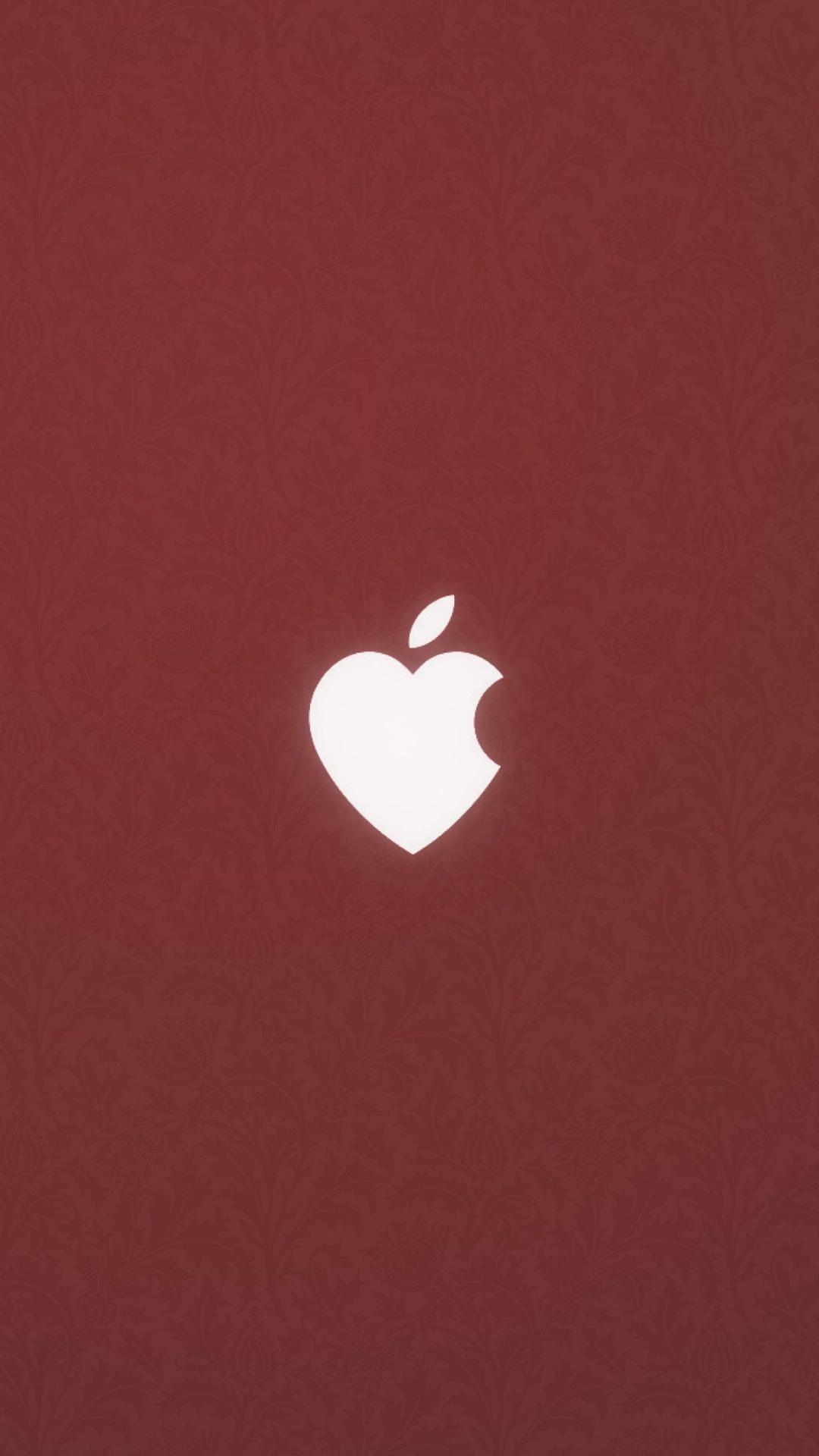 Appleハート Wallpaper Sc スマホ壁紙