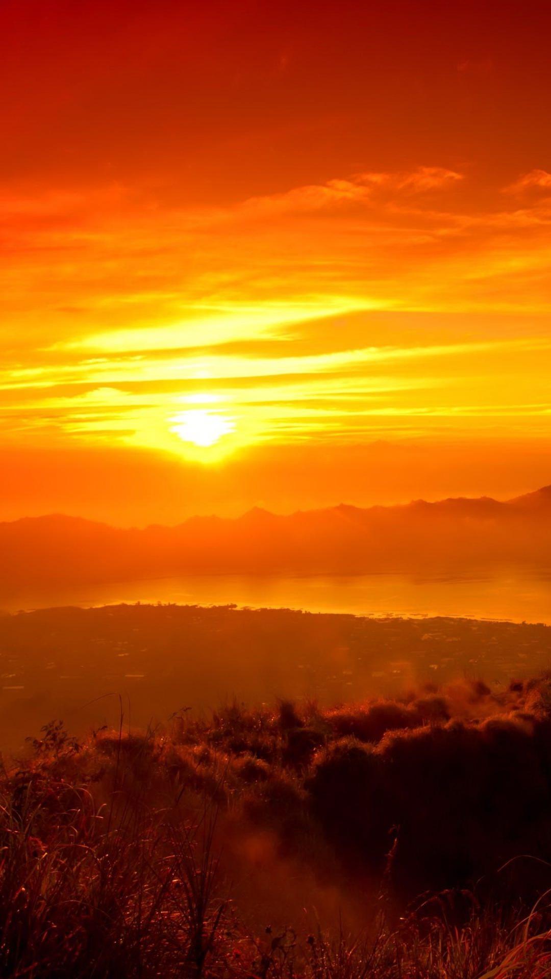 Pemandangan Matahari Terbenam Wallpapersc Android