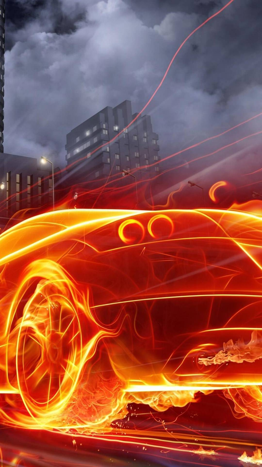 Cool Cars Flame Wallpapersc Smartphone
