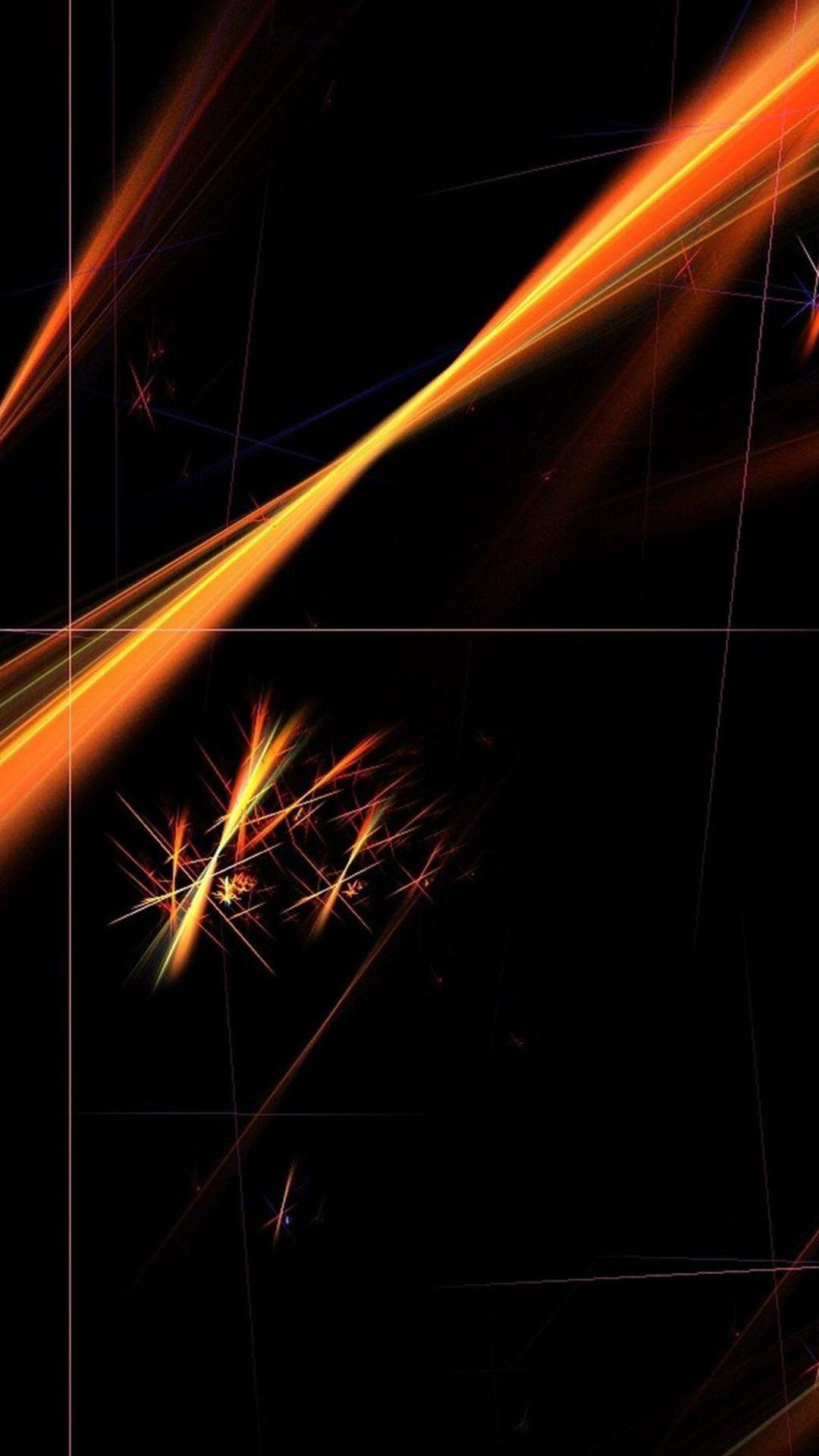 pattern black orange wallpapersc smartphone