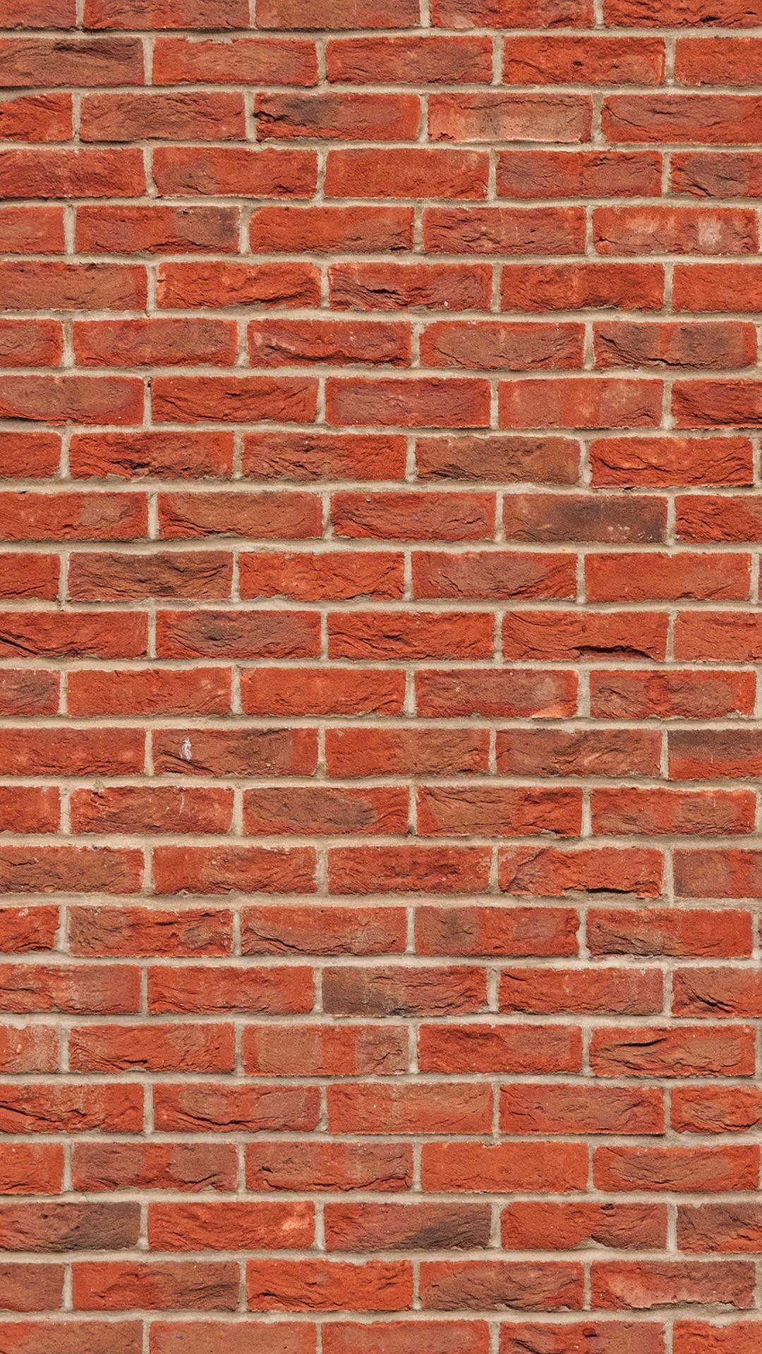 Pattern brick red brown vermilion