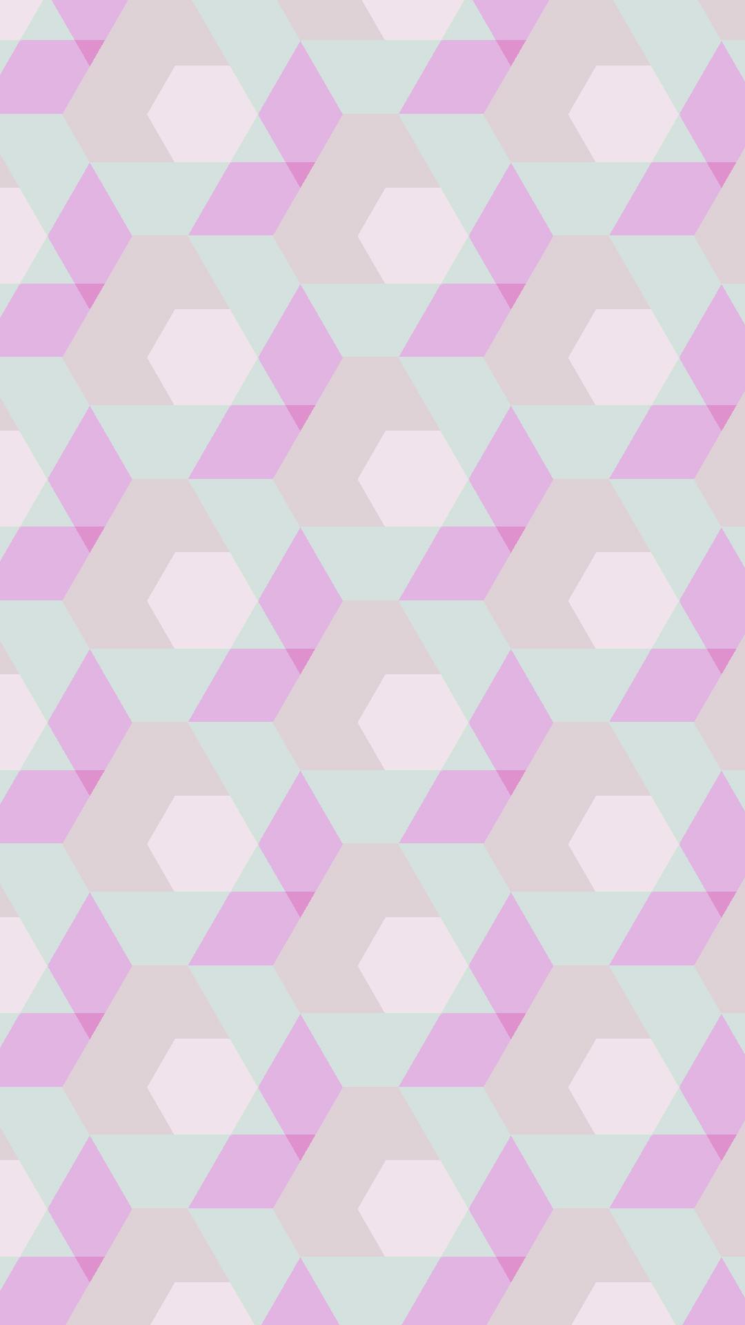 幾何学模様赤緑 Wallpaper Sc スマホ壁紙