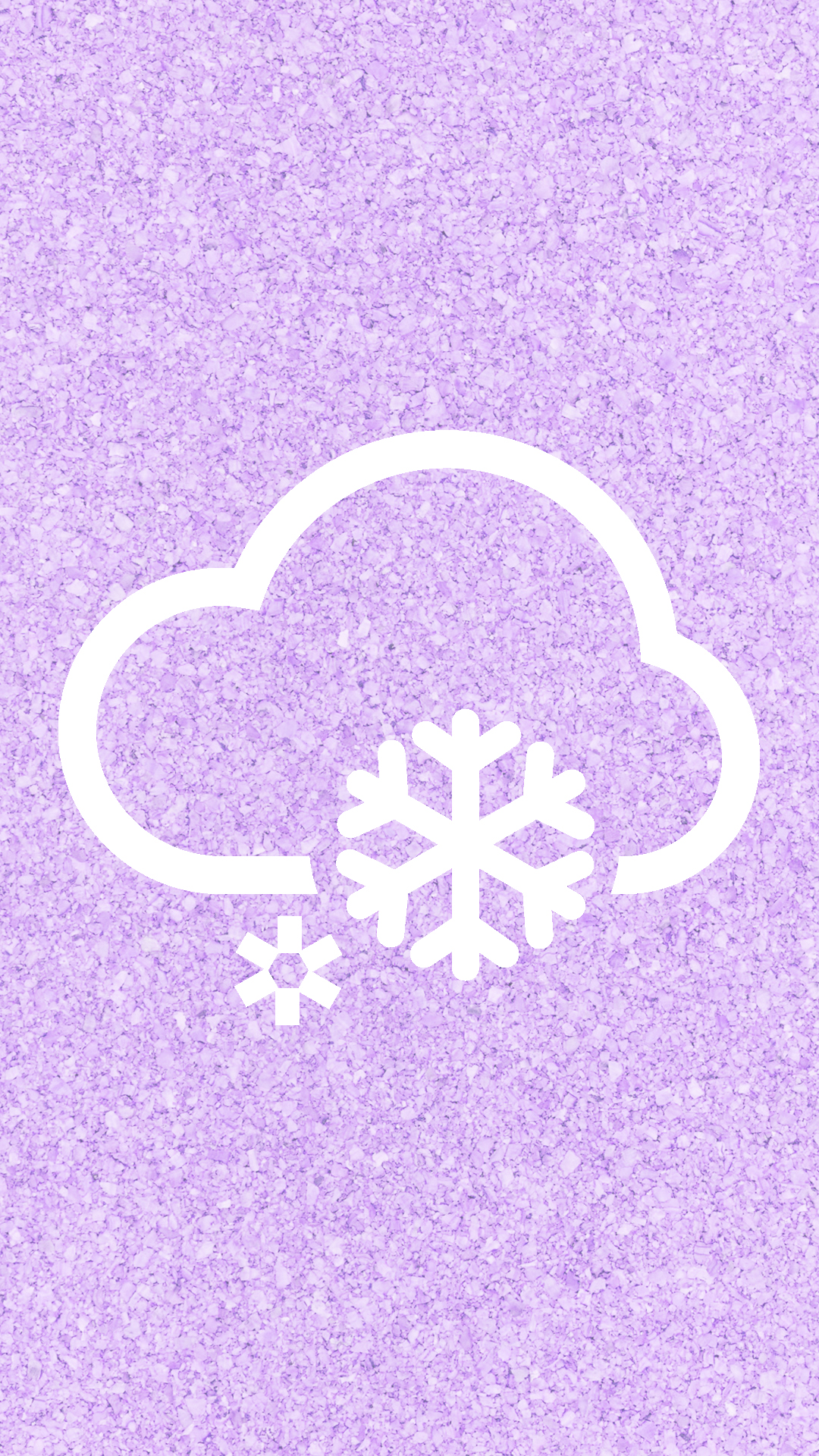 Cloudy weather Purple  wallpaper.sc SmartPhone