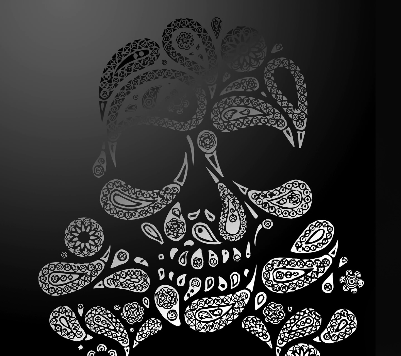 Skull logo wallpaper smartphone android smart phone wallpaper voltagebd Image collections