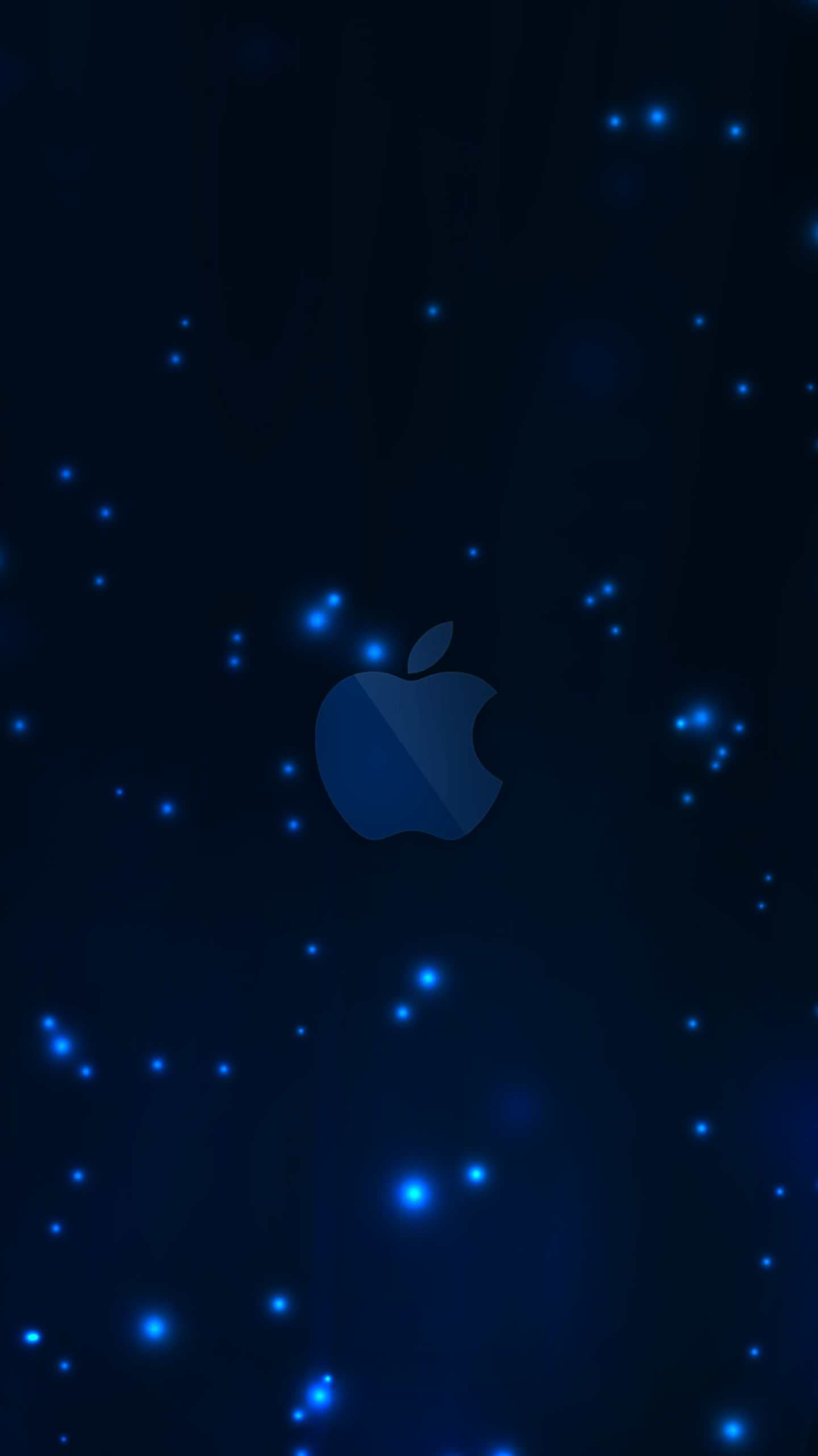 apple blue smartphone