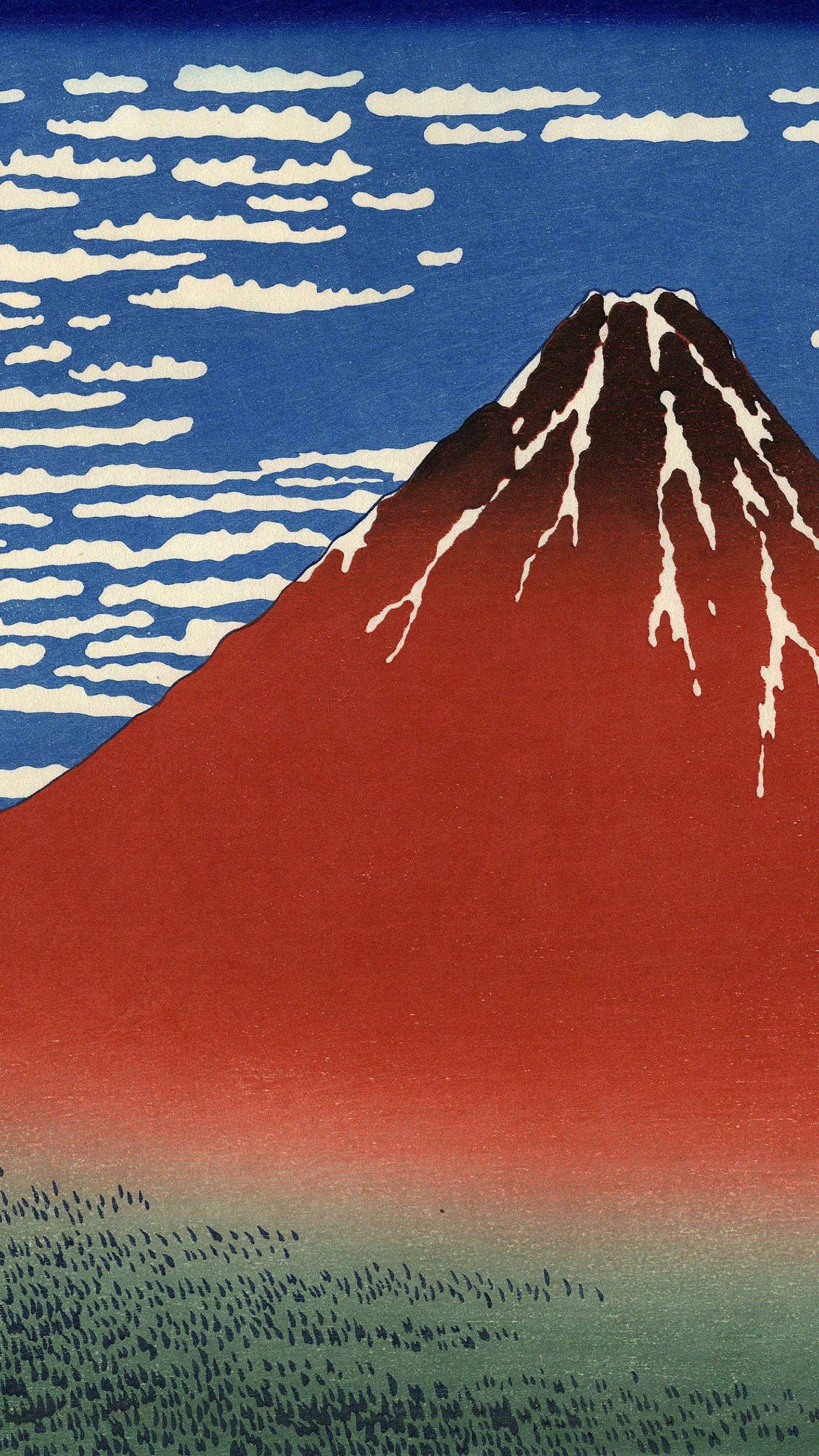 クール絵富士山 Wallpaper Sc スマホ壁紙