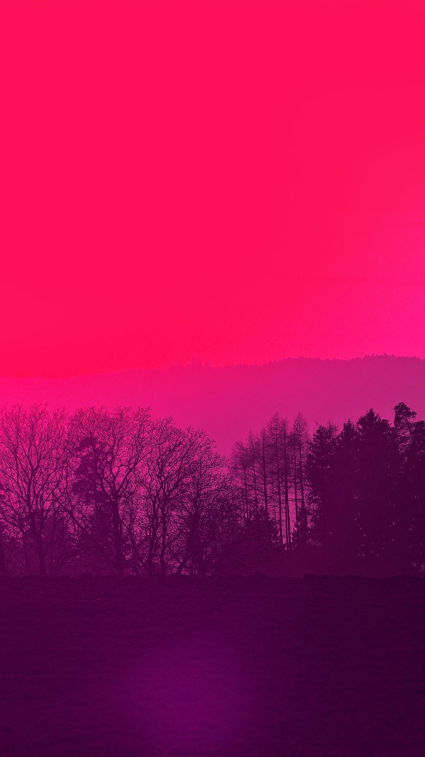 Pemandangan Merah Wallpapersc Android