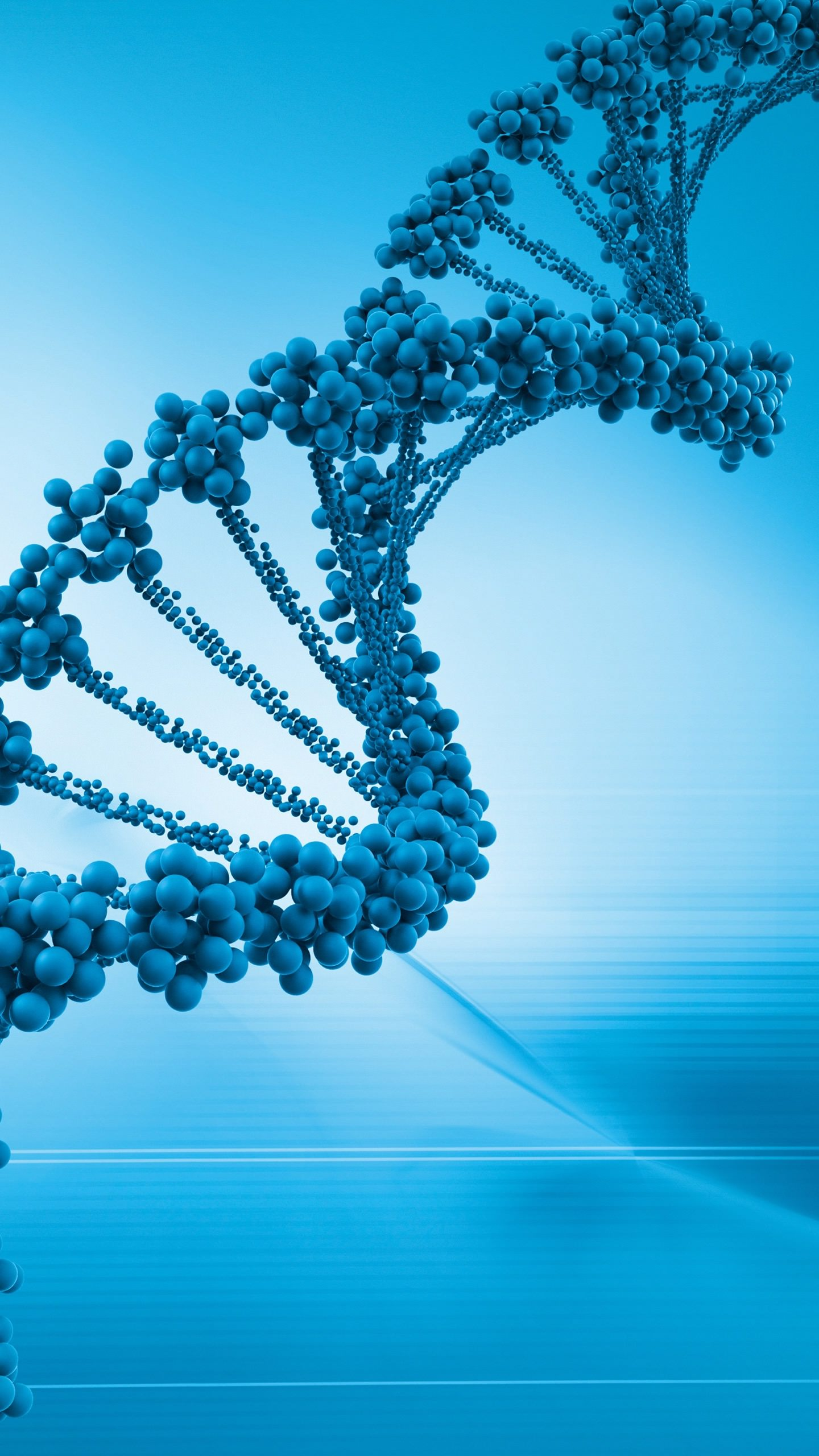 Cool DNA blue gene genome  wallpaper.sc SmartPhone