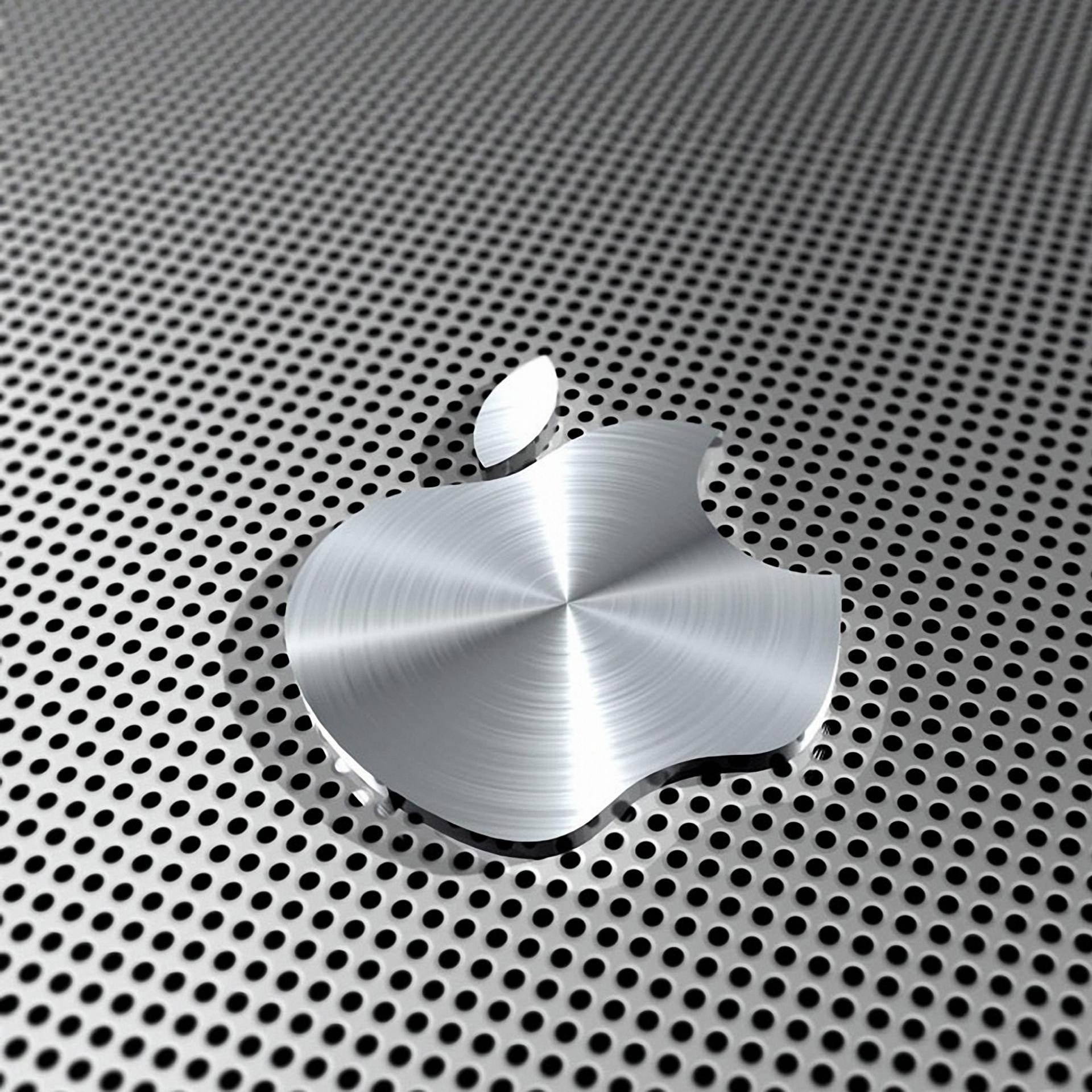 Appleメタル銀 Wallpaper Sc スマホ壁紙