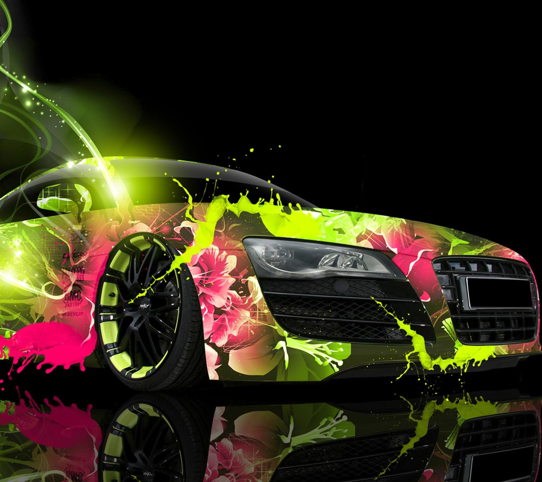 Fluorescent Car Paint