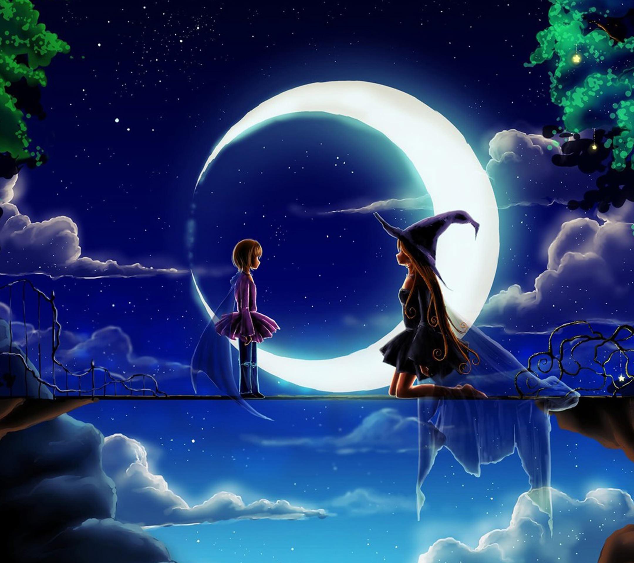 少女と魔女の月