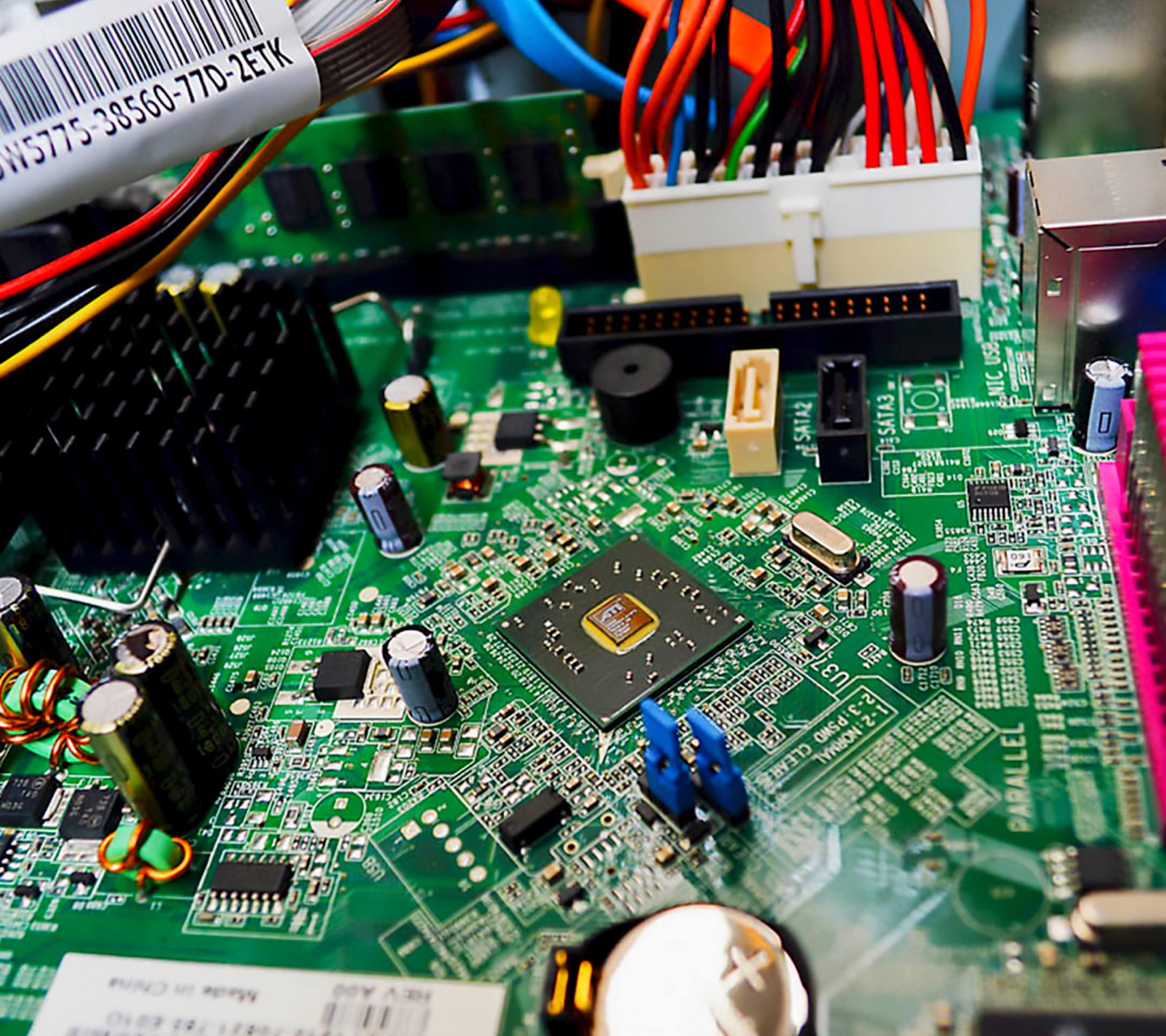 Electronic Circuit Green Parts
