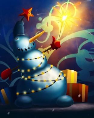 Christmas Snowman Wallpaper Sc Applewatch