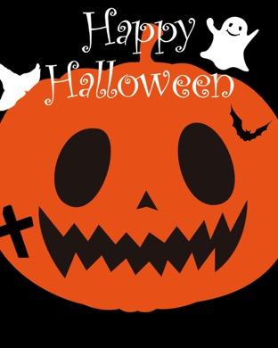 Illustration Halloween pumpkin orange | wallpaper.sc AppleWatch