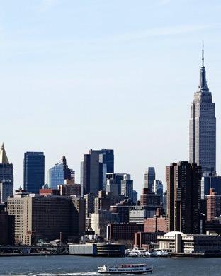 Paisaje De New York Manhattan Wallpapersc Applewatch