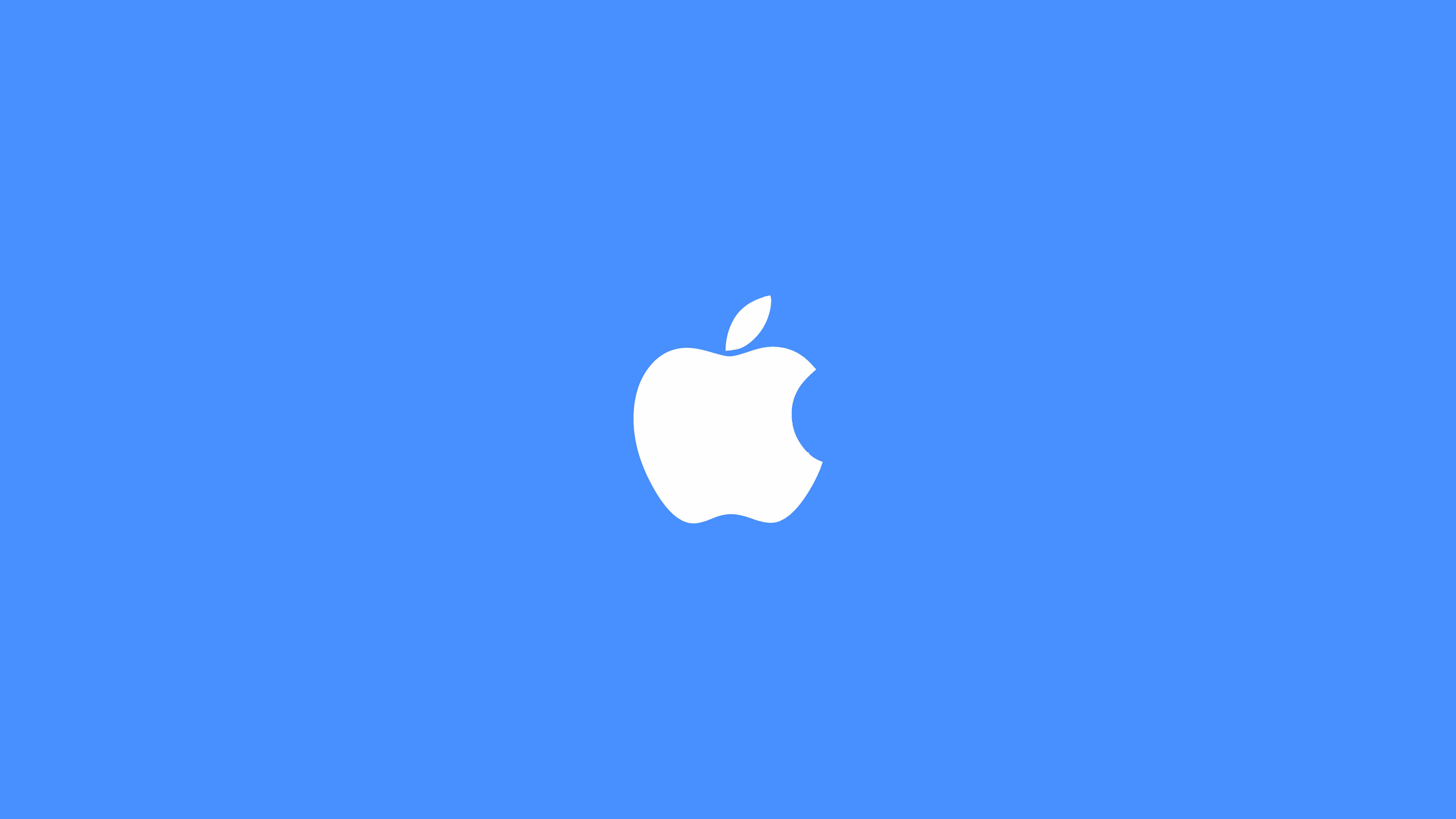 Related Wallpapers Apple Logo Blue