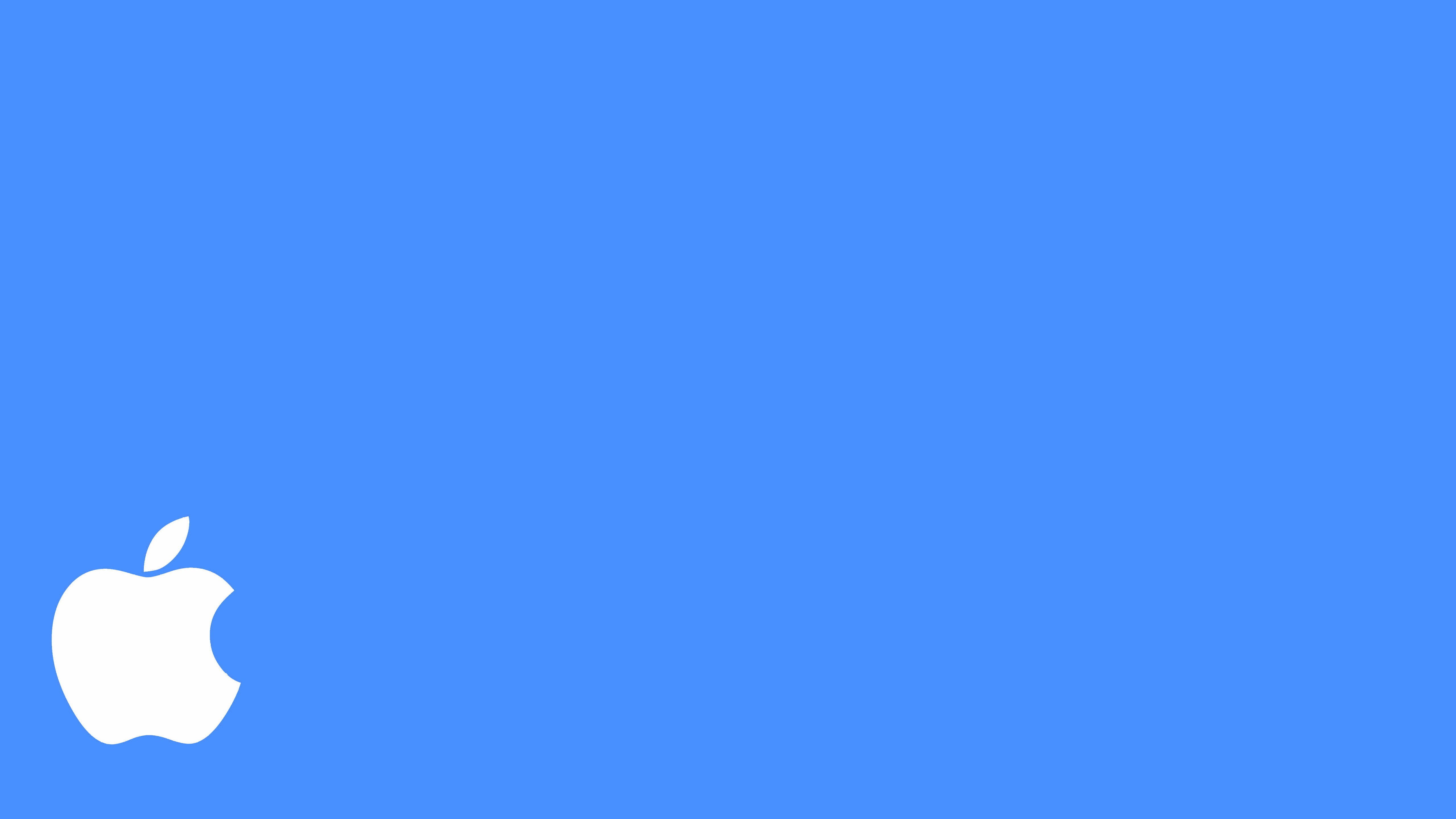 blue apple wallpaper ipad