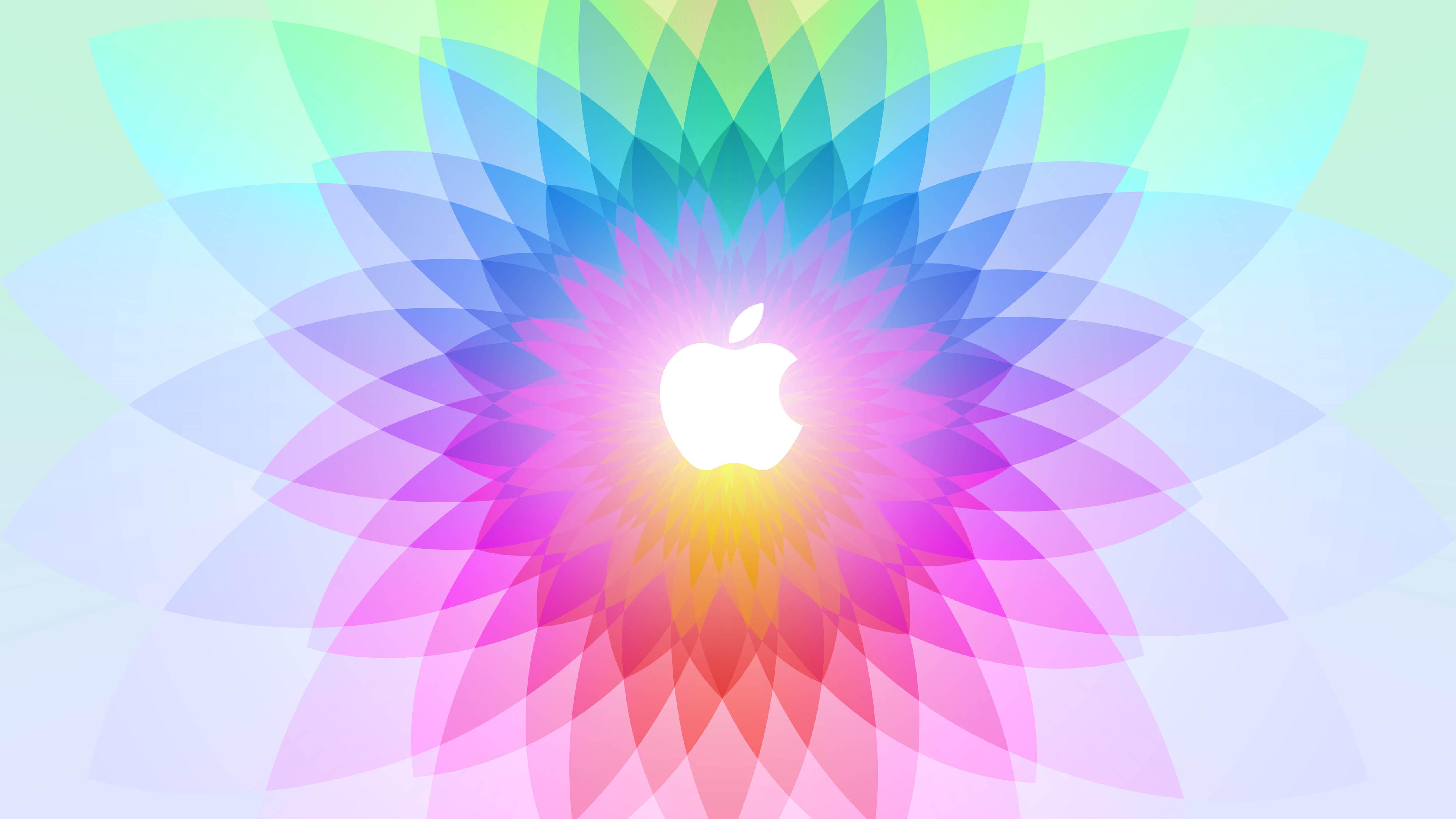 Illustrations Colorful Apple Logo