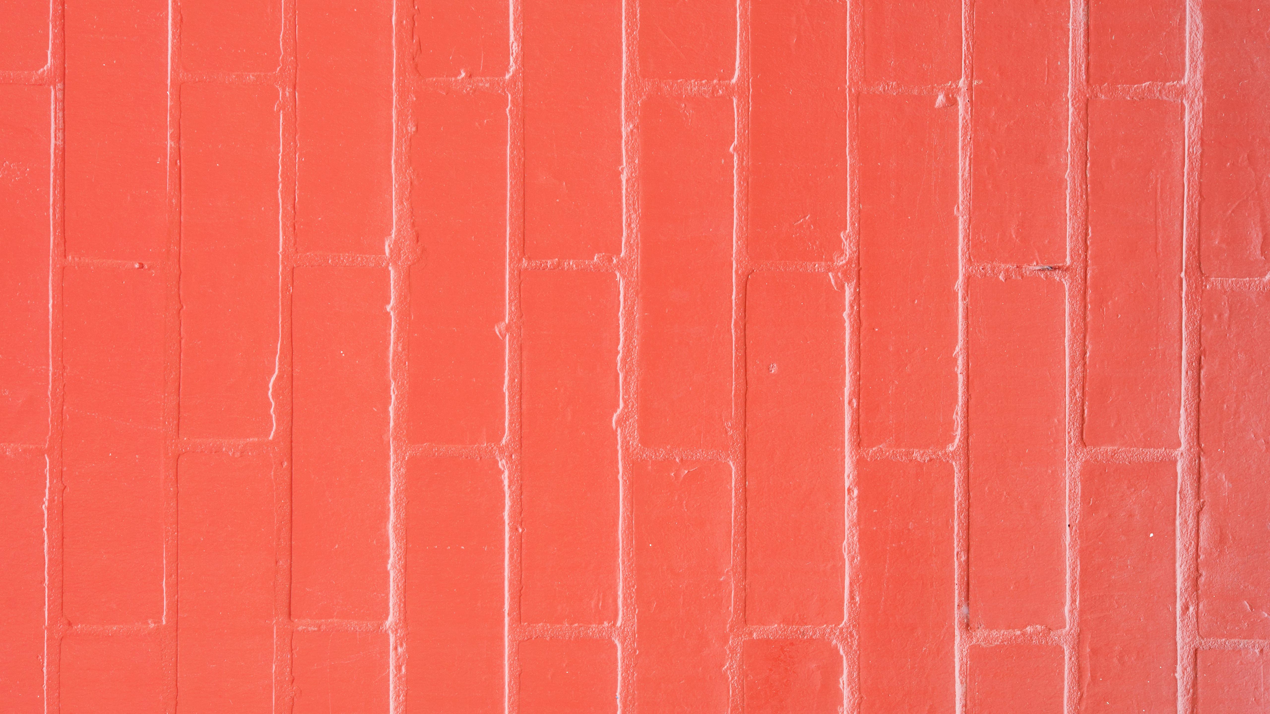 Red brick pattern wall cool