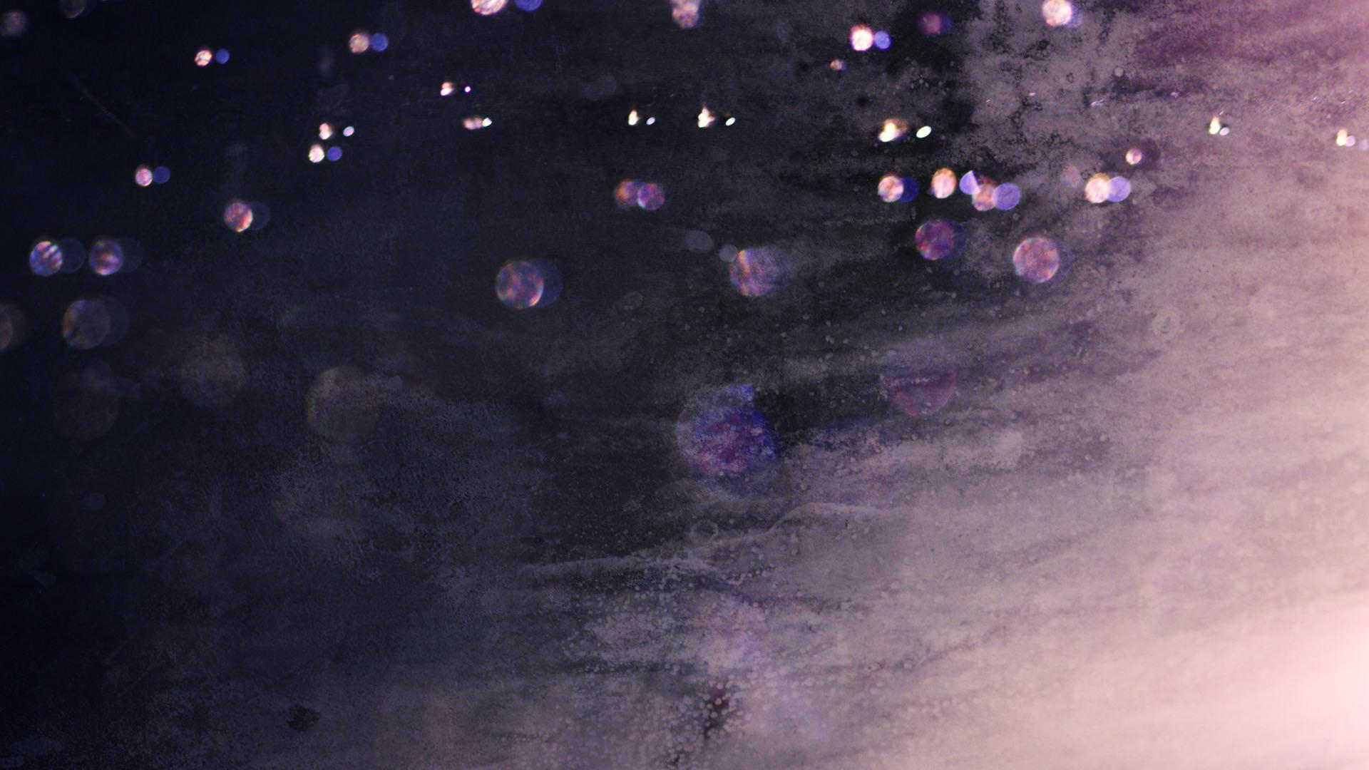 Cool Water Drops Purple Black Wallpaper Sc Desktop