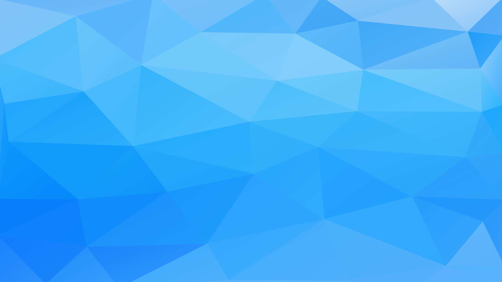 Blue Or Green Pattern Polygon 3d Blue Wallpaper Sc Desktop