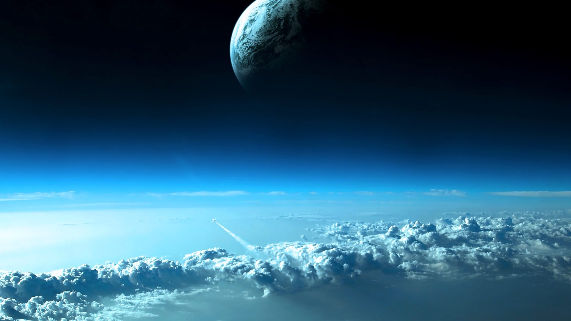 Space Earth stratosphere | wallpaper.sc Desktop