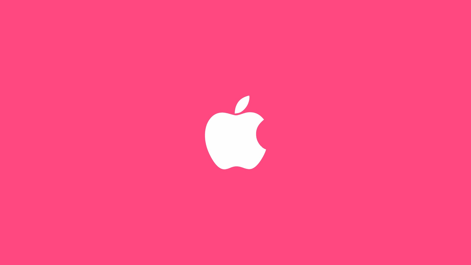 Apple Logo Pink Wallpapersc Desktop