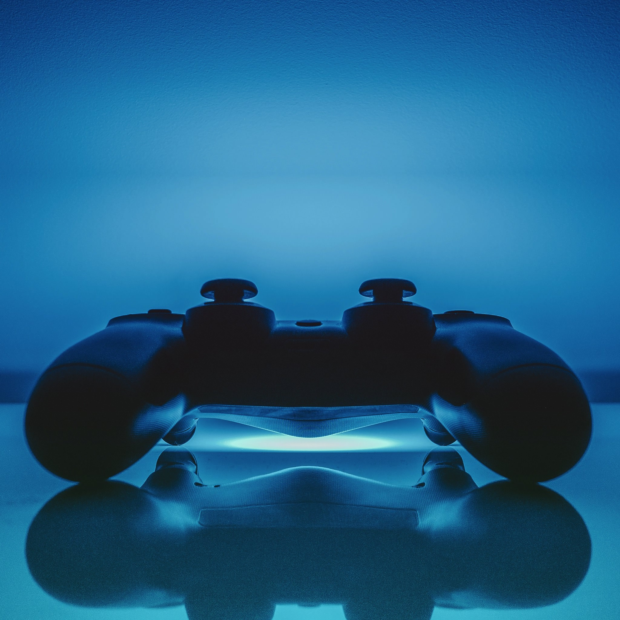 ps controller blue cool ipad
