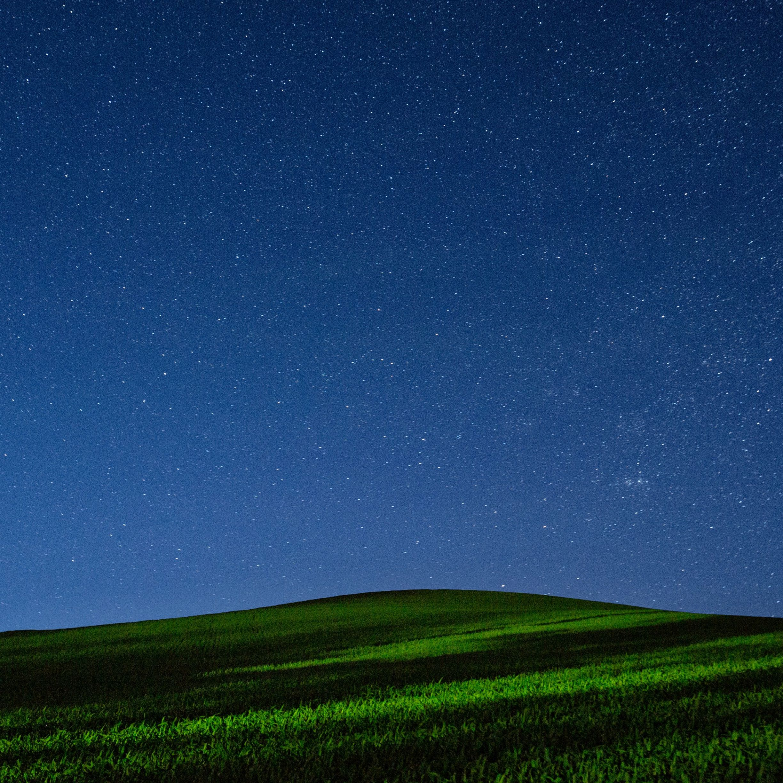 景色夜空緑 Wallpaper Sc Ipad壁紙