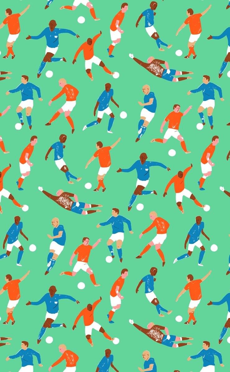 Soccer Pattern Best Design Ideas