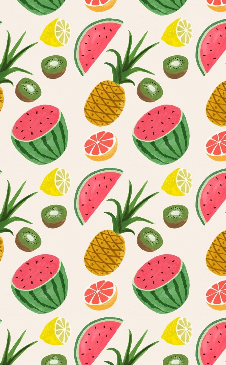Food fruit pattern | wallpaper.sc iPhone4s