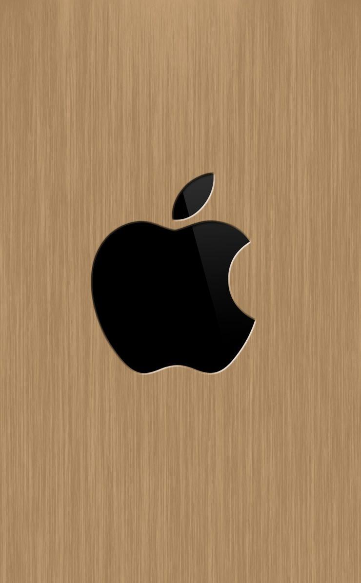 Apple木目 Wallpaper Sc Iphone4s壁紙