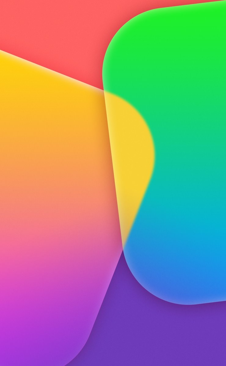 Apple Green And Yellow Purple Red Wallpaper Sc Iphone4s
