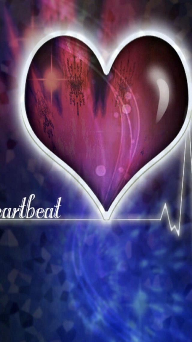 Heartbeat Wallpaper Sc Iphone5s Se