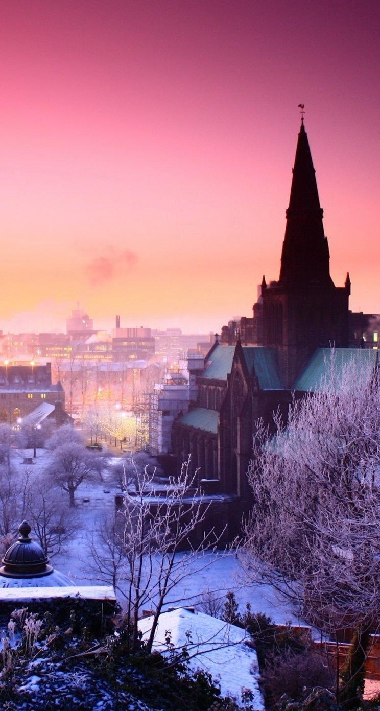 Pemandangan Salju Jo Putih Wallpapersc IPhoneSE5s