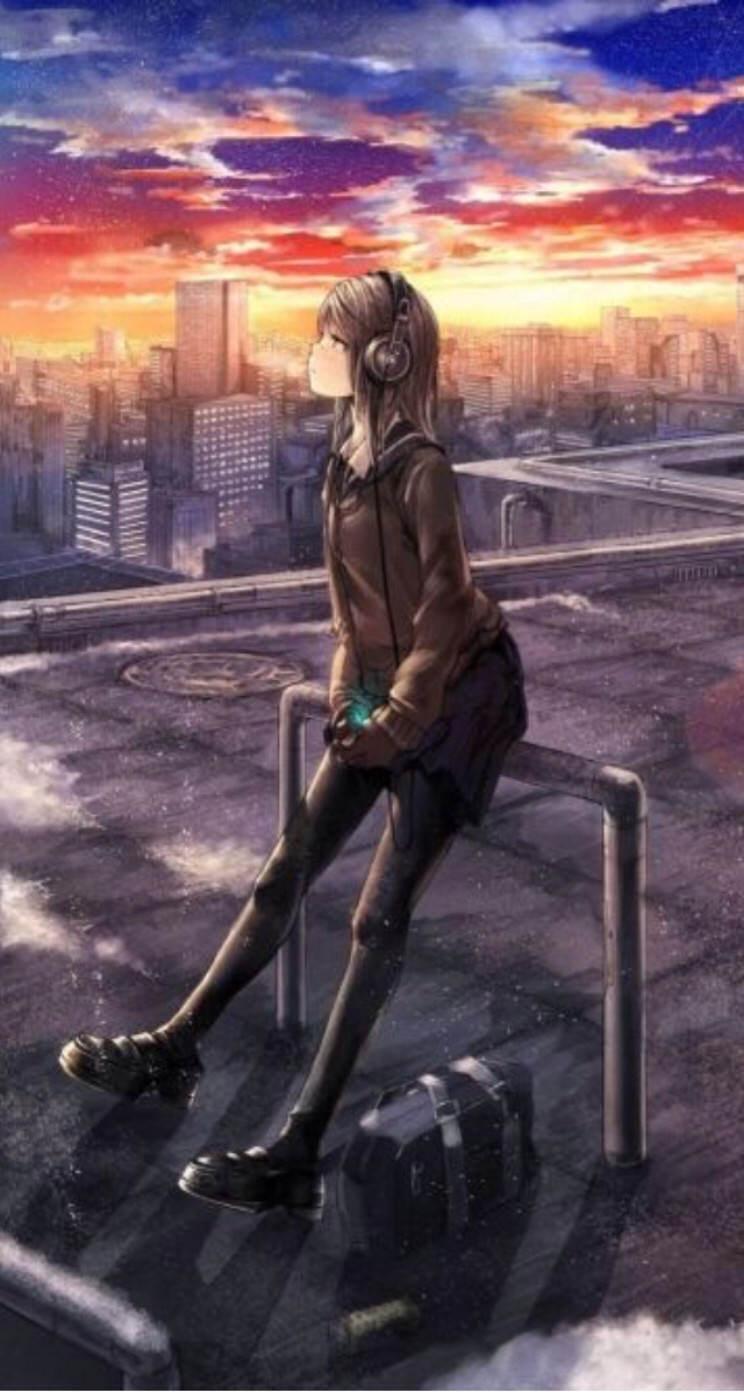 Chara Schoolgirl Picture Wallpaper Sc Iphone5s Se