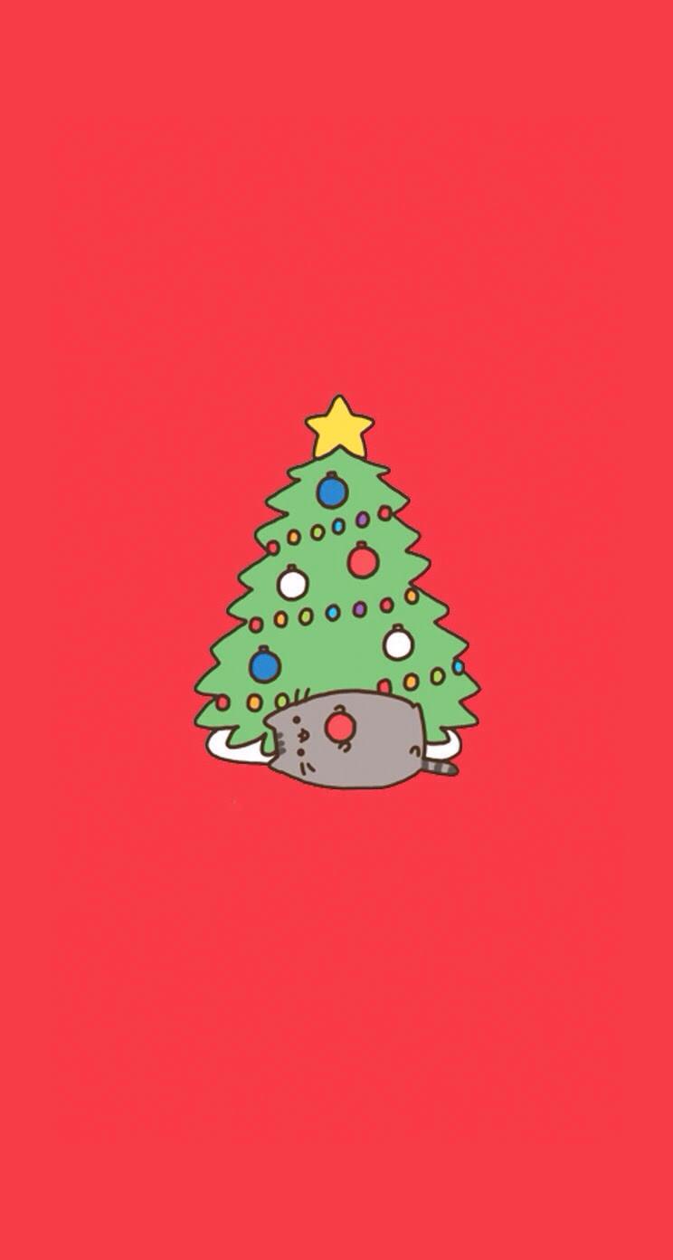 クリスマス赤 Wallpaper Sc Iphone5s Se壁紙