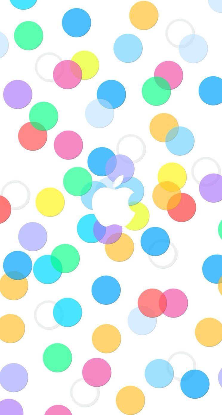Apple模様白 Wallpaper Sc Iphone5s Se壁紙