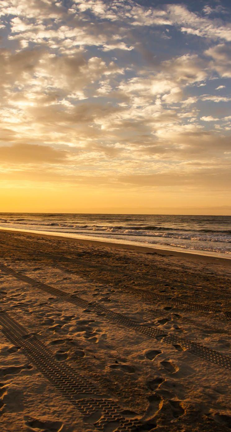 Scenery Seaside Sky Wallpaper Sc Iphone5s Se