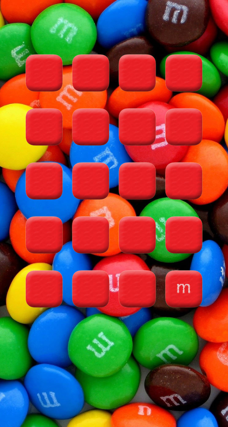 colorful cute red shelf chocolate | wallpaper.sc iphone5s,se