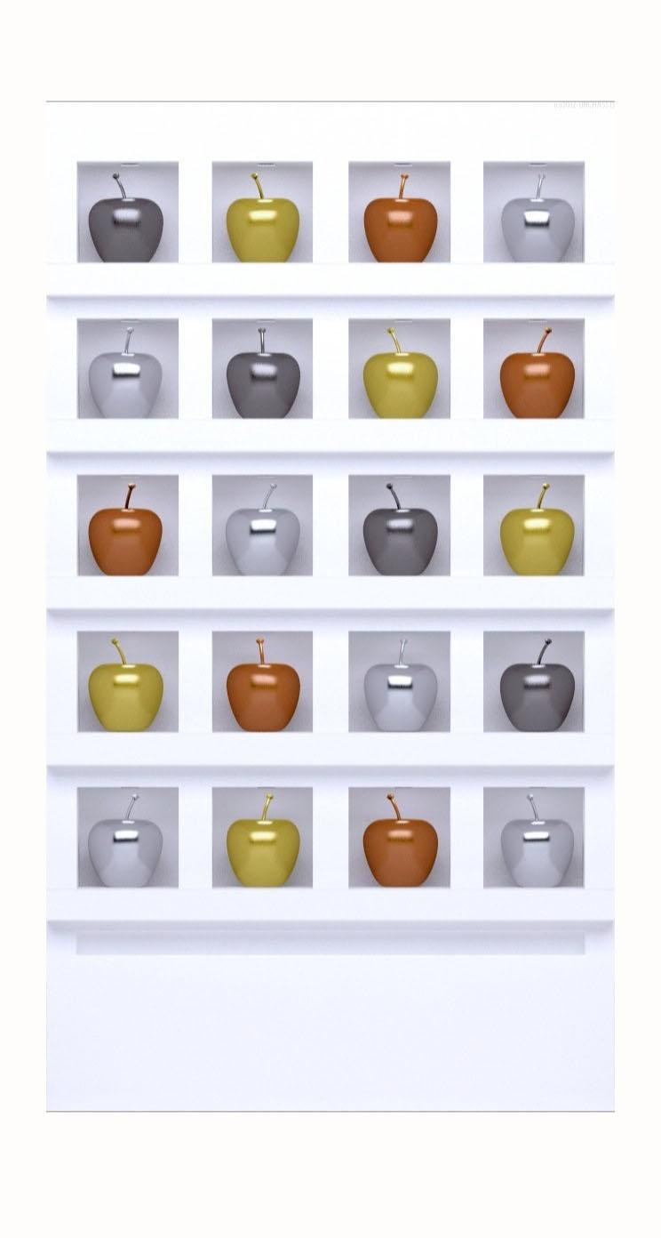 棚リンゴapple可愛いの iPhone5s / iPhone5c / iPhone5 壁紙