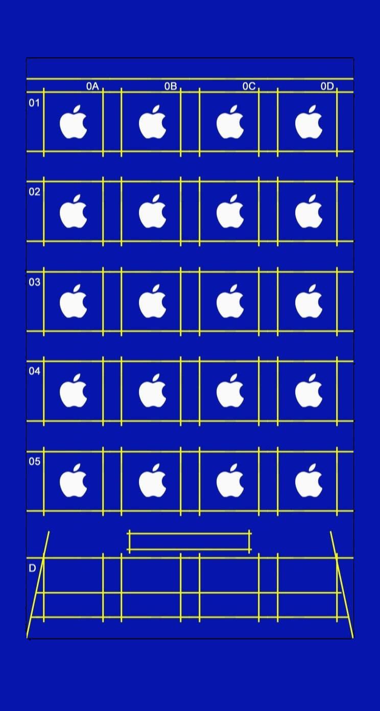 shelf apple blue wallpapersc iphone5sse