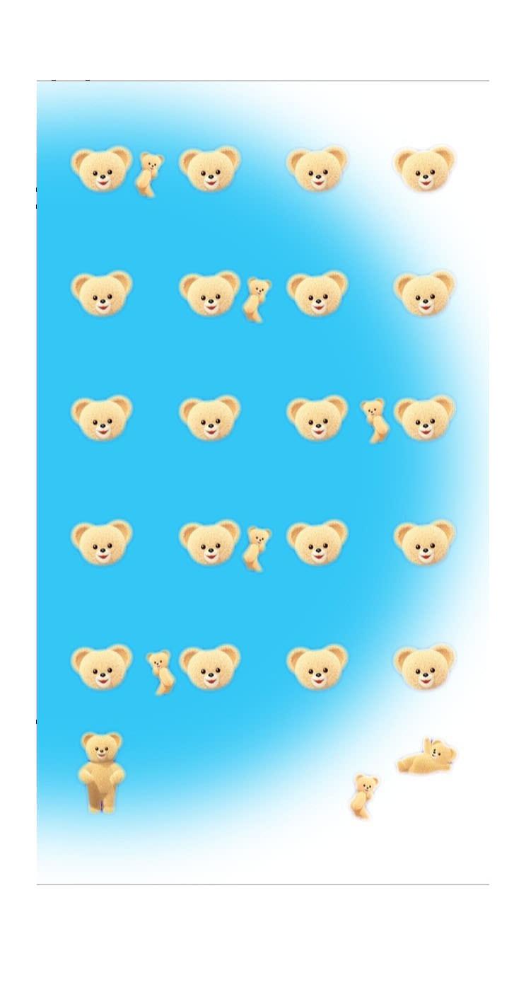 棚熊キャラ可愛い女子向け Wallpaper Sc Iphone5s Se壁紙