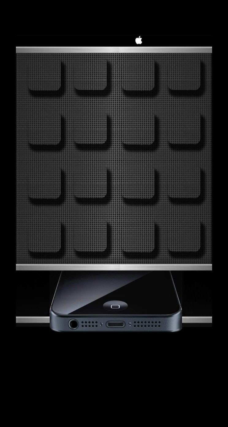 棚黒appleiphoneクール Wallpaper Sc Iphone5s Se壁紙