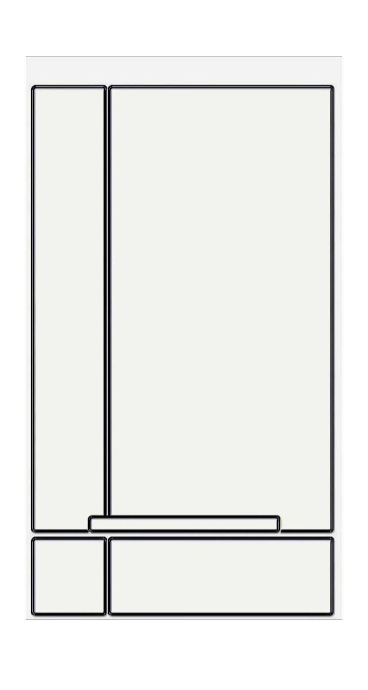 棚白シンプル Wallpaper Sc Iphone5s Se壁紙