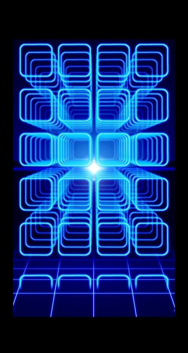 Cool Blue Black Shelf Wallpaper Sc Iphone5s Se